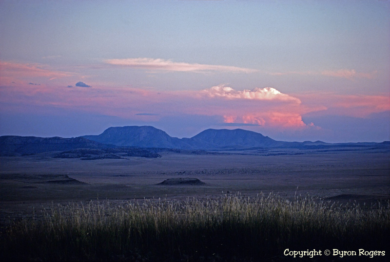 Davis Mountains and Valley Photograph 1981