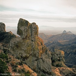 Chisos Mountains 1988